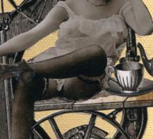 Steampunk Machinist - Sobriquette Pinion Sticker