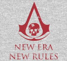 Assassins Creed Black Flag New Era red by shahidk4u