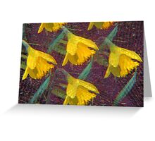 Kaleidoscopic Garden 3 Greeting Card