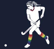 Bentstix Hockey Club Women's Hoodie - Original Design (2013) One Piece - Short Sleeve
