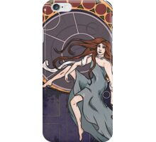 Amelia Pond, Art Nouveau  iPhone Case/Skin