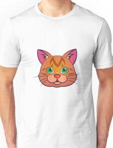 Red cat portrait Unisex T-Shirt