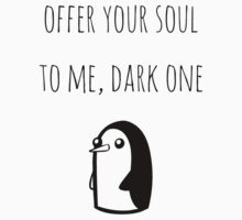 Offer Your Soul To Me, Dark One by pelguin
