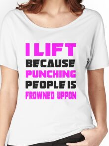I LIFT ! Women's Relaxed Fit T-Shirt
