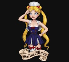 Retro Sailor Moon Womens Fitted T-Shirt