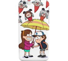 It's raining gnomes iPhone Case/Skin
