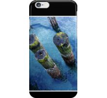 lichen pilings iPhone Case/Skin