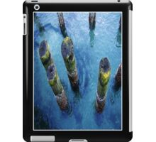 lichen pilings iPad Case/Skin