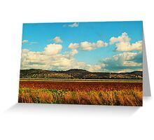 Layers fields Greeting Card