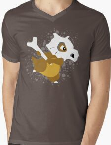 Cubone Splatter Mens V-Neck T-Shirt