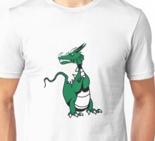 Dragon evil mythical beast design cool comic Unisex T-Shirt