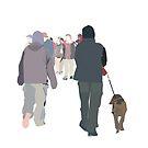 usual walks by 2piu2design