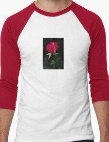 double delight rose bud Men's Baseball ¾ T-Shirt