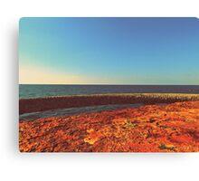 Rusty ocean Canvas Print