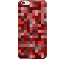 Pixels - Red iPhone Case/Skin