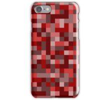 Pixels - Red iPhone Case/Skin