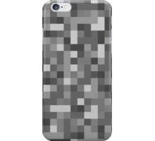 Pixels - Grey iPhone Case/Skin
