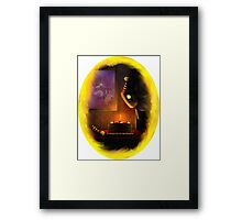 Only Poisoned it a little Framed Print