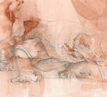 Chinese Zodiac - The (Komodo) Dragon by Kirsten Glenwright
