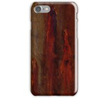 Textures - Bleeding Gums iPhone Case/Skin