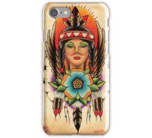 Native American Girl iPhone Case/Skin