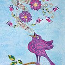 FIND YOUR SONG by Lisa Frances Judd~QuirkyHappyArt