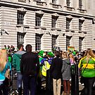 Whitehall Place - St Patrick's Day Parade, London 2014 by Lisa Hafey