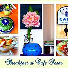 Breakfast at Cafe Sesar by ©The Creative  Minds