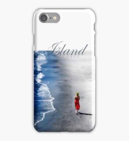 The Island's Lady in Red iPhone Case/Skin