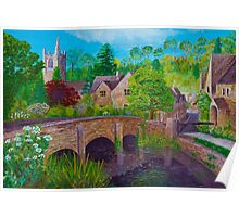 A fairytale village Poster