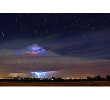 Stormy Startrails  Photographic Print