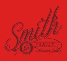 Smith Family - Deep Red Kids Clothes