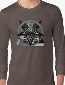 Illuminated - Greyscale/high contrast edit Long Sleeve T-Shirt