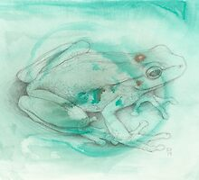 Tree Frog by KirstenOnRedB