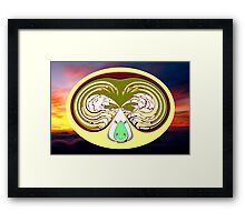 Creation - Celtic Tree of Life No15 Framed Print