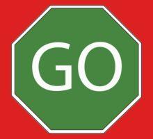 Go sign green Kids Tee