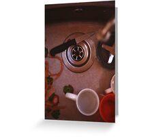 Kitchen Sink Greeting Card