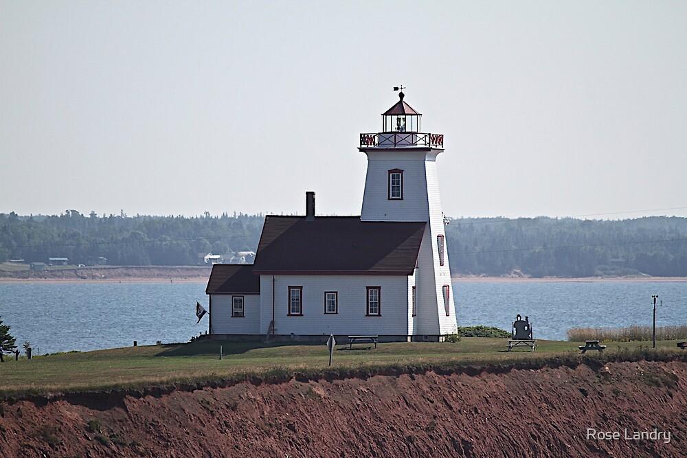Wood Island PEI Lighthouse by Rose Landry
