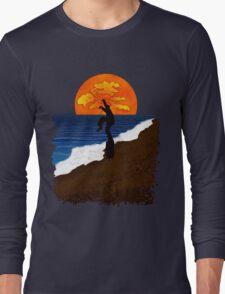 Karate Beach Long Sleeve T-Shirt
