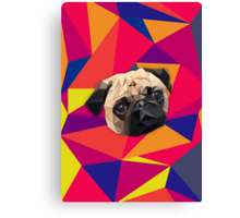This pug loves you Canvas Print