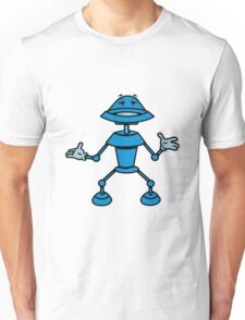 Robot funny cool toys funny comic Unisex T-Shirt