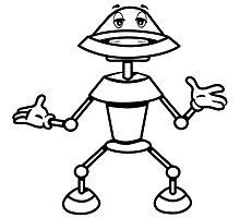 Robot funny cool toys funny comic by Motiv-Lady