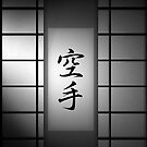 Karate - Black and White 01 by soniei