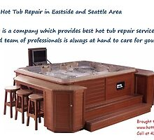Affordable Hot Tub Repair in Eastside and Seattle Area by hottuband