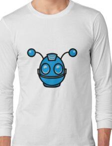 Robot funny cool toys fun antennas Long Sleeve T-Shirt