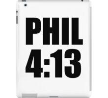 Phil 4:13 iPad Case/Skin
