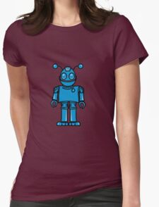 Funny cool robot toy fun Womens Fitted T-Shirt