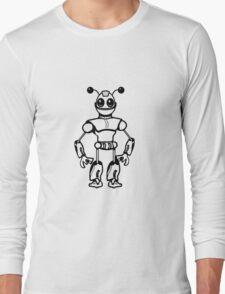 Funny cool robot toy fun Long Sleeve T-Shirt