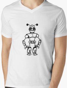 Funny cool robot toy fun Mens V-Neck T-Shirt