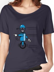 Funny cool fast funny goofy robot comic Women's Relaxed Fit T-Shirt
